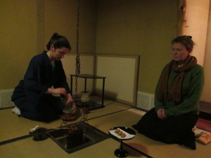 les japanse theeceremonie in un sui an